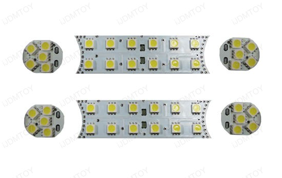 LED Panel Lights Interior Package