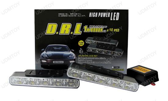 5-LED High Power LED Daytime Running Lights