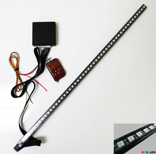 7-Color LED Scanner Strip Lighting Kit