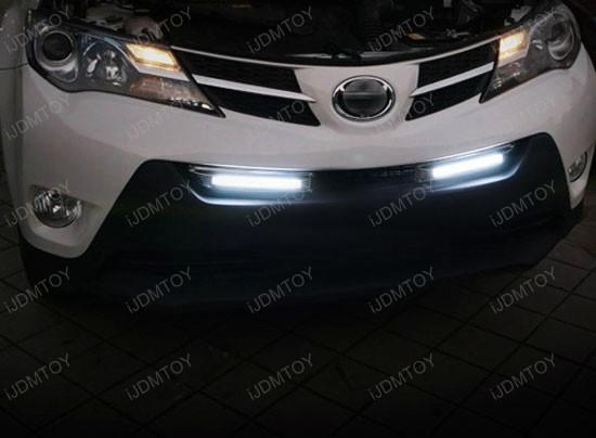 Toyota RAV4 LED Daytime Lights 07