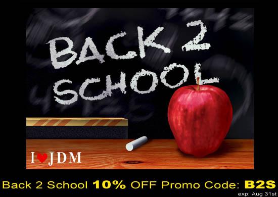 Back 2 School 10% off storewide