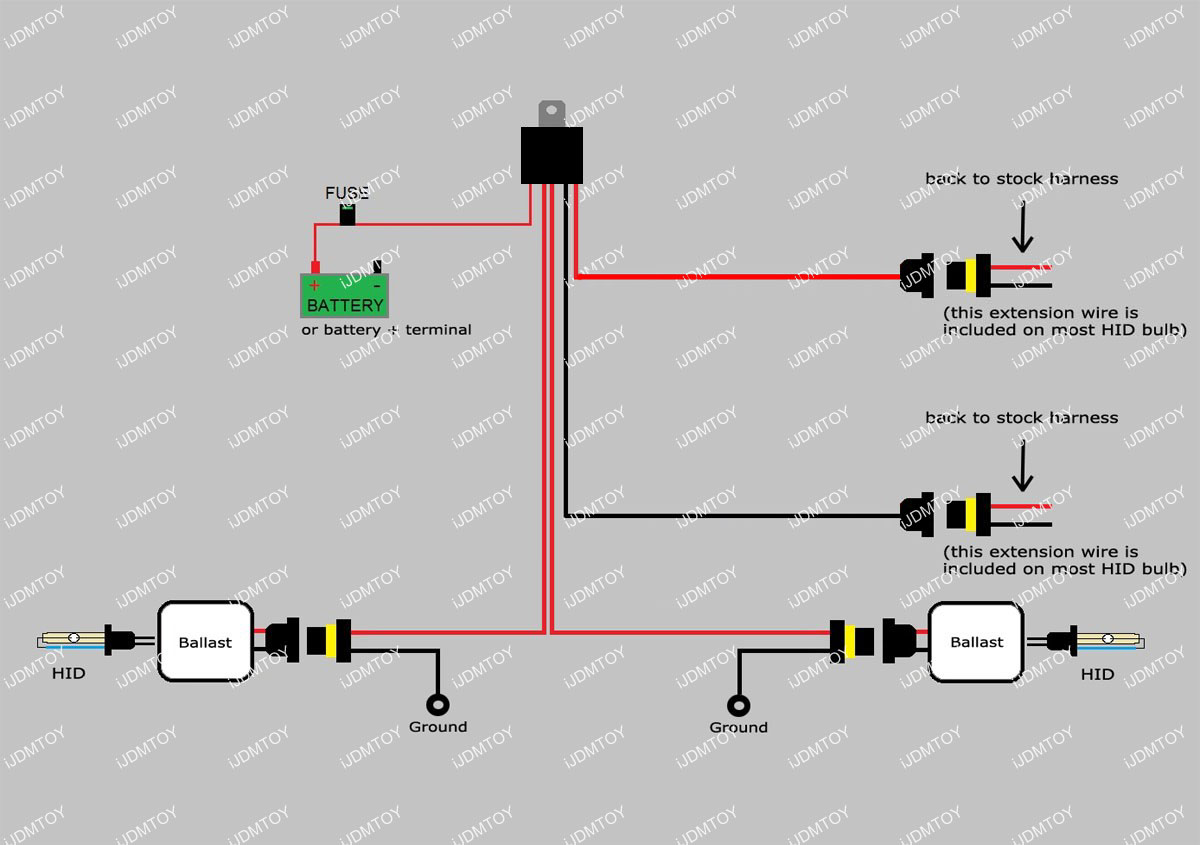 2 Wire Tail Light Wiring Diagram