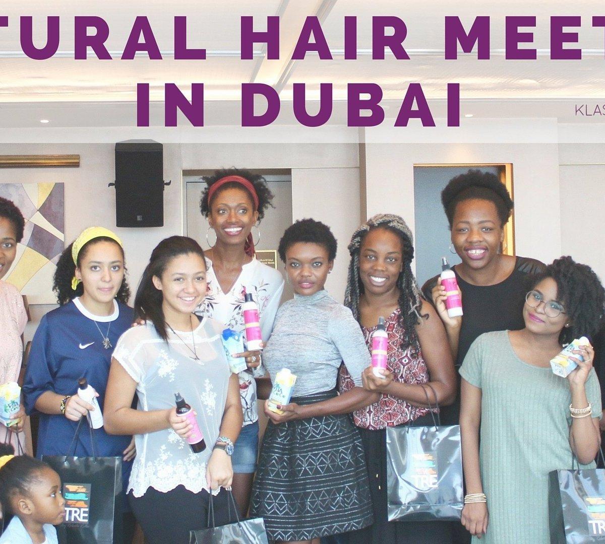 Natural Hair Meetup in Dubai | KlassyKinks.com