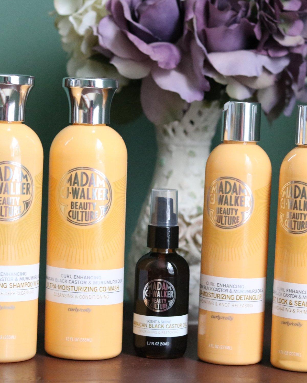 Madam Cj Walker Beauty Culture Jamaican Black Castor Murumuru Oils Review Ijeoma Kola
