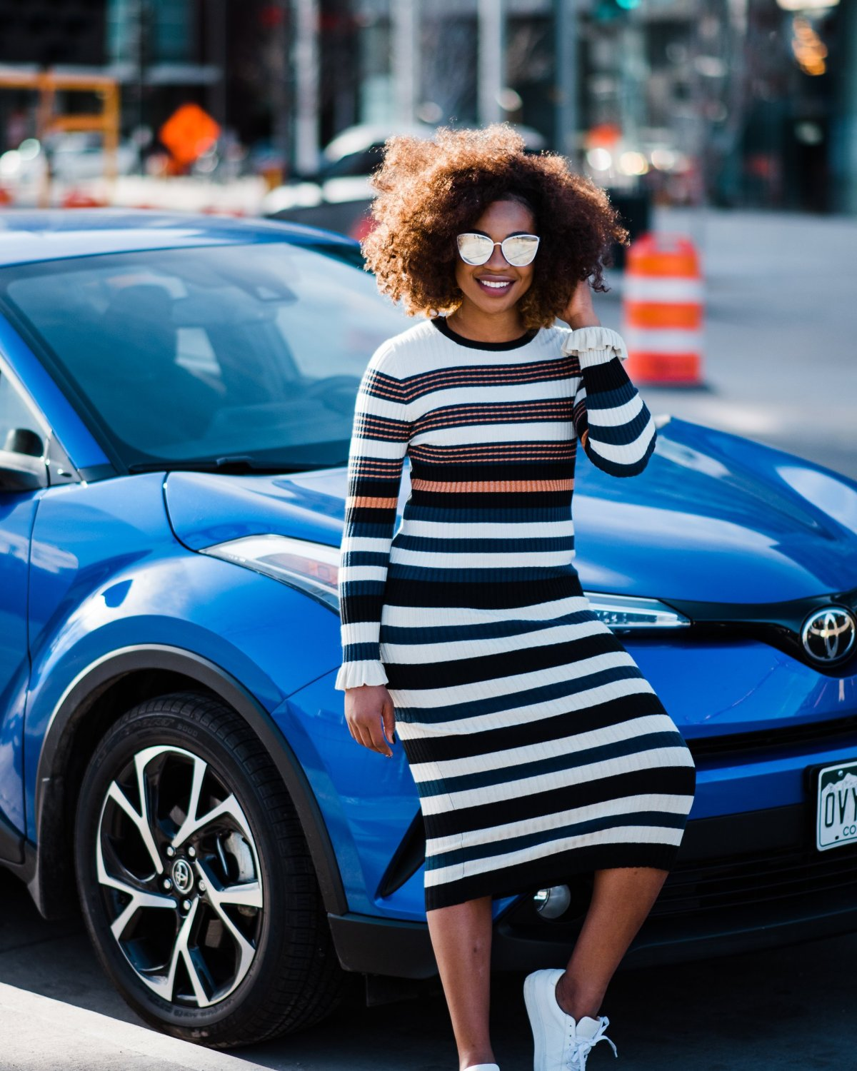 Guide to Denver - driving the 2018 Toyota C-HR XLE Premium