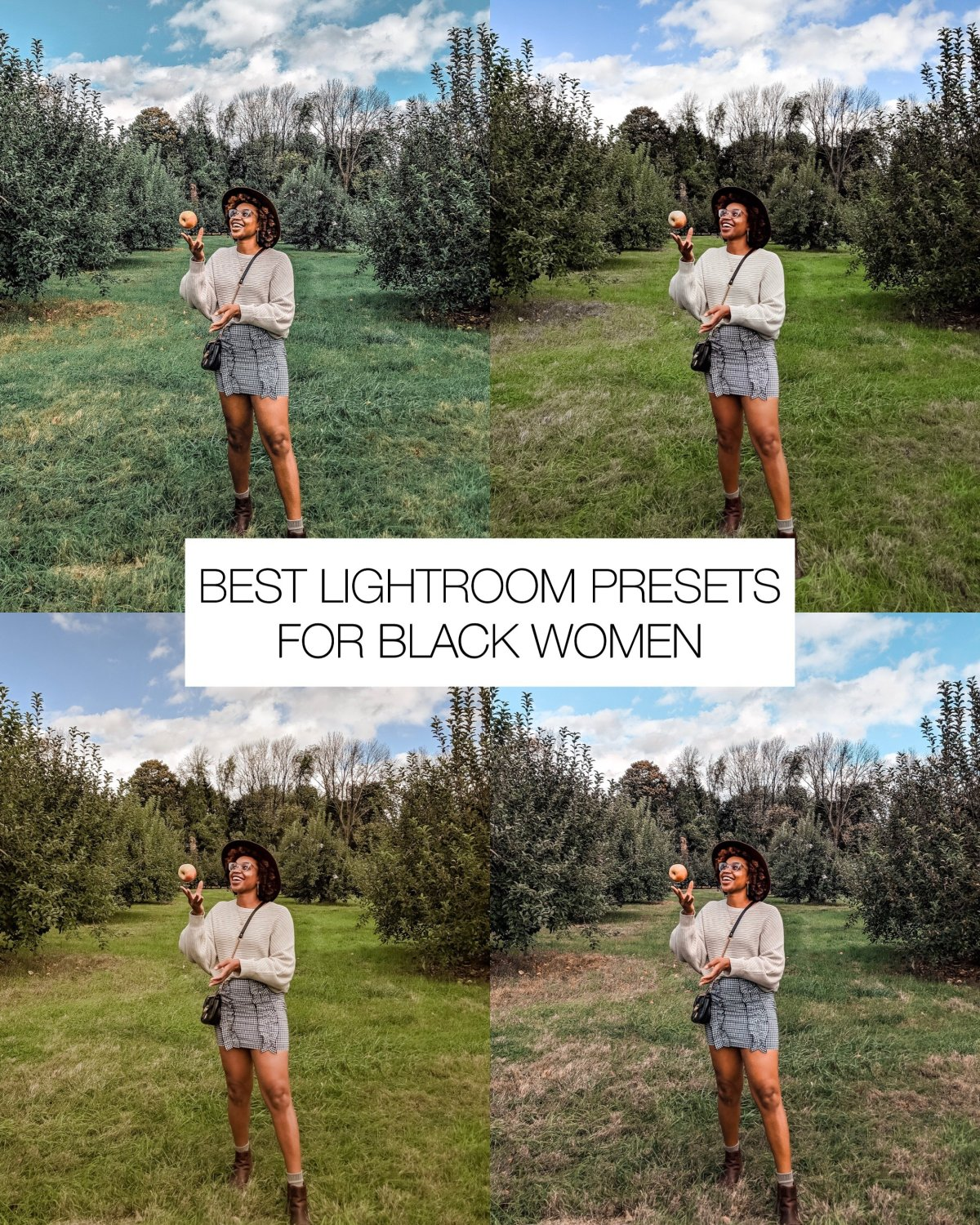 Favorite Lightroom Presets for Black Women | Ijeoma Kola