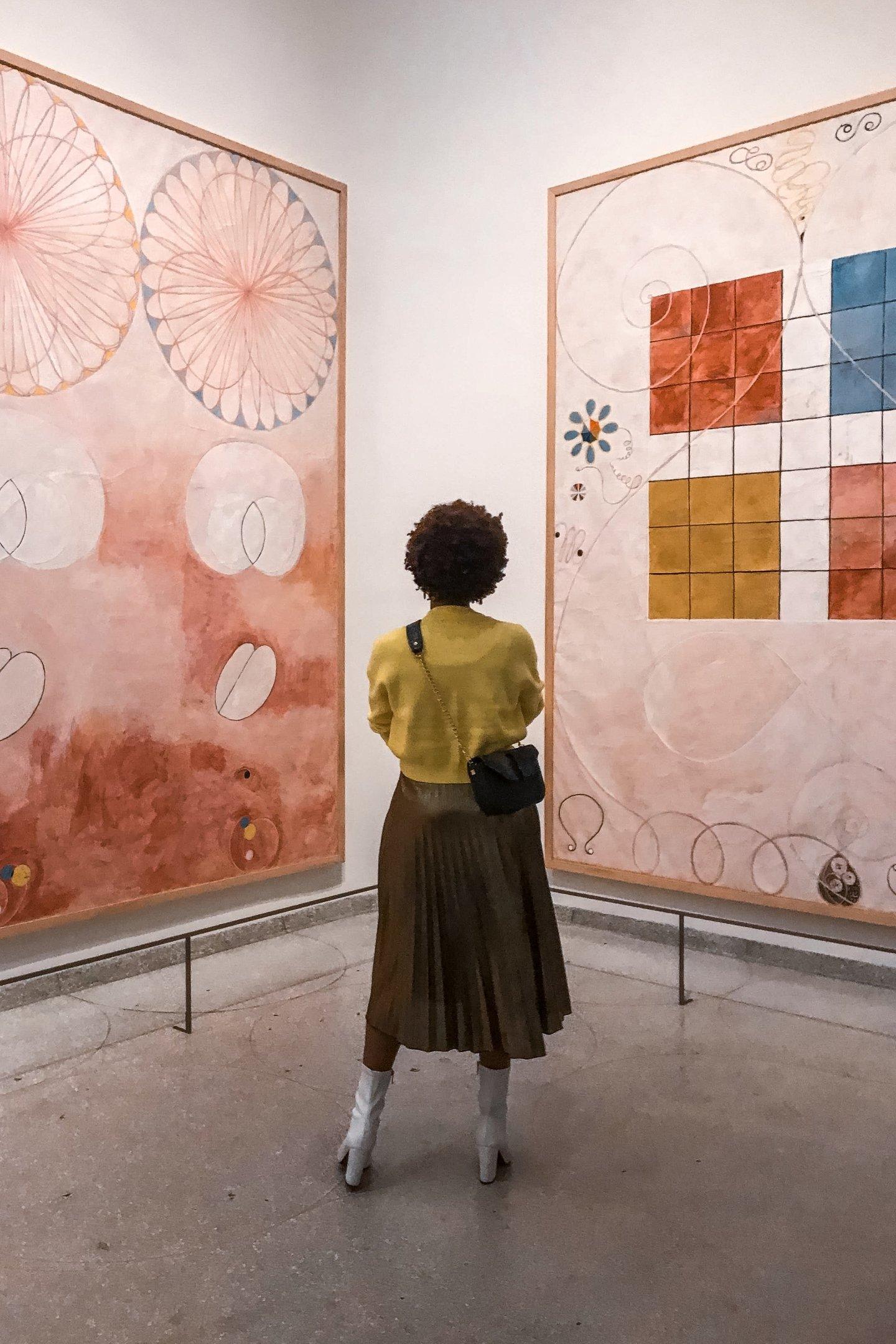 Hima af Klint at the Guggenheim