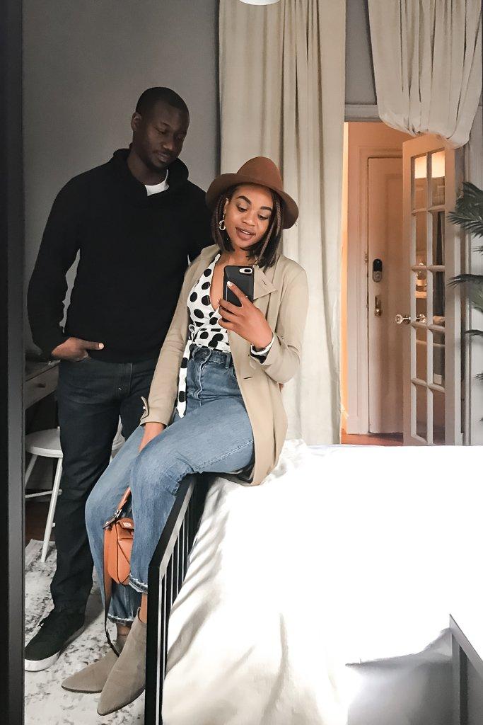 Ijeoma and Jonathan Kola at June Homes