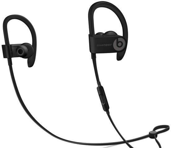 Back wireless Beats headphones