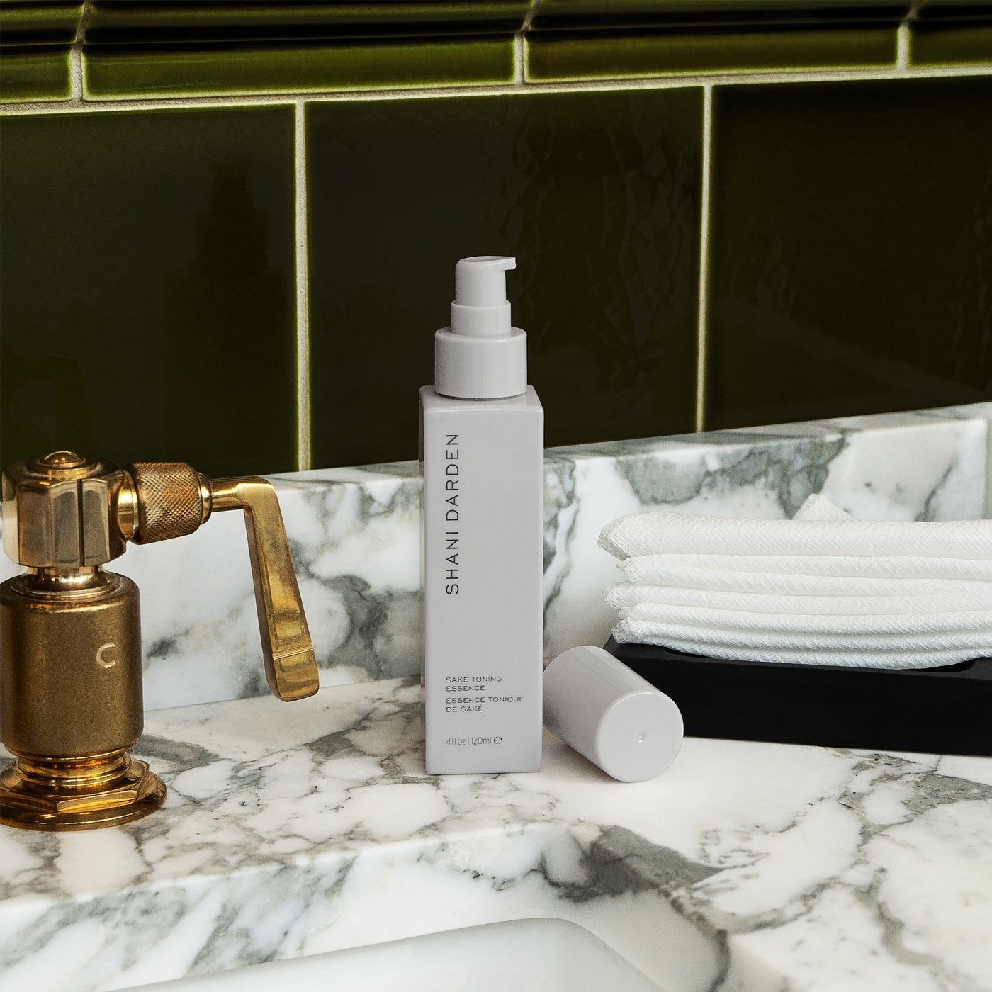 Shani Darden skincare product on marble surface