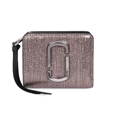 Metalic purple Marc Jacobs wallet