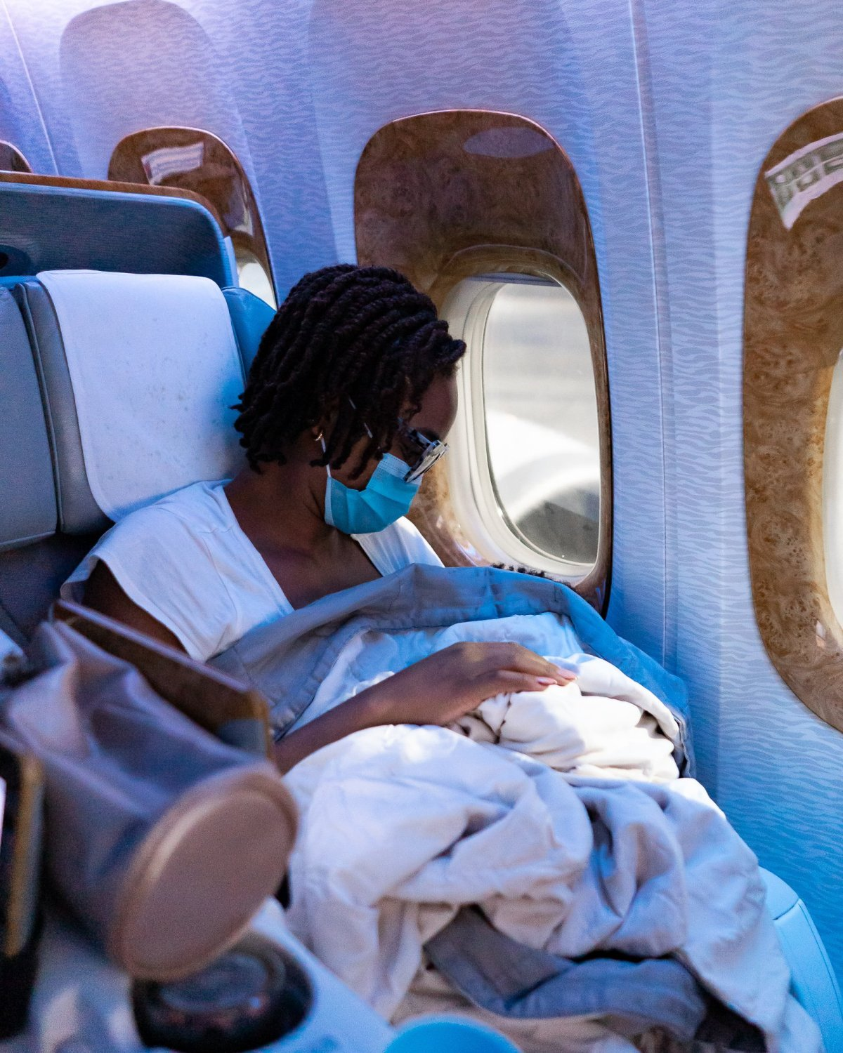 Ijeoma Kola Flying with a Toddler on Emirates B777 Business Class