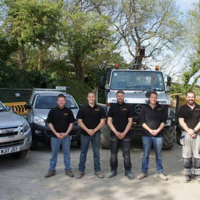 Team by I J Hodges Cornwall Electrical Water Contractors