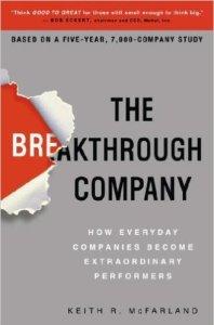 break through
