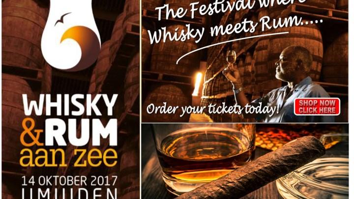 14 Oktober Whisky & Rum aan Zee festival 2017