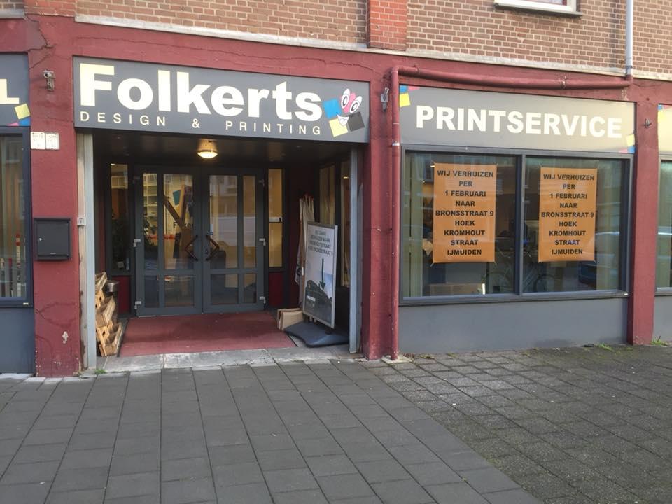 Folkerts Design & Printing gaat verhuizen