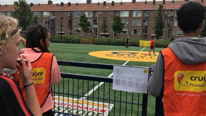 Kinderen uit groep 7 & 8 kunnen zich weer inschrijven voor het Cruyff Court 6 vs 6 toernooi!
