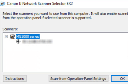 IJ Network Scanner Selector EX 2 Download