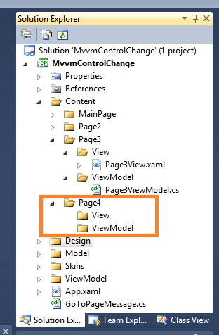 C# MVVMLight Tutorial - Adding a another View