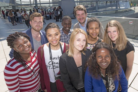 Participants of the Southern African Bursary 2015