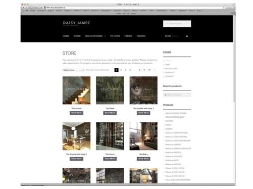 Webdevelopment Webshop interiors