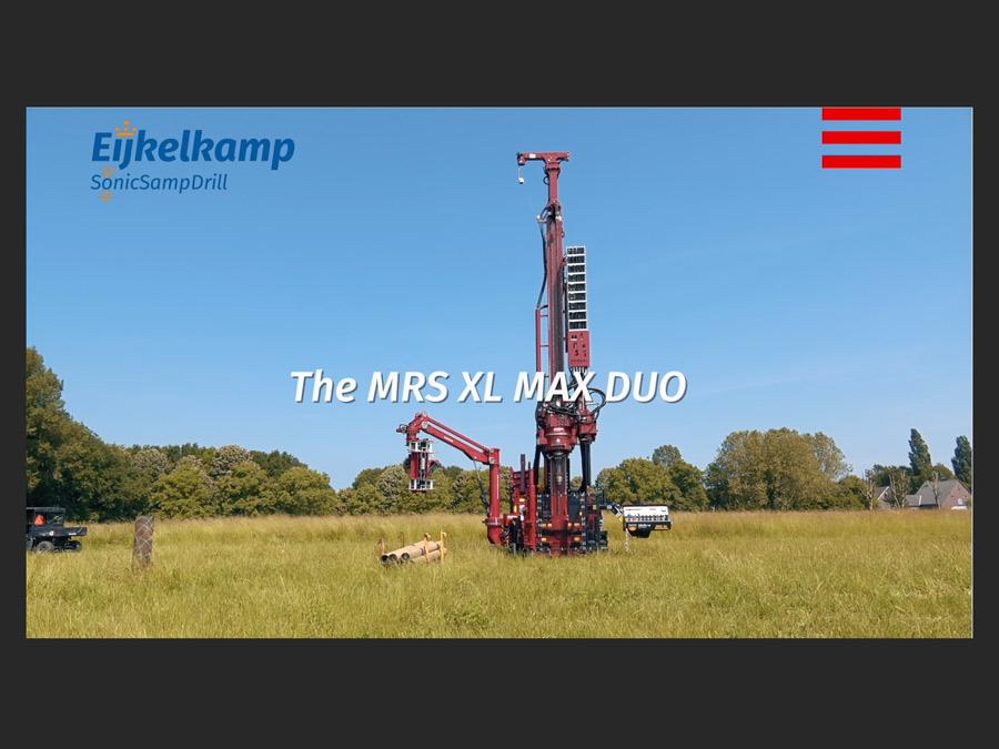 Video's boor- en CPT machines Royal Eijkelkamp
