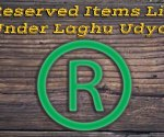items under Laghu Udyog ki List