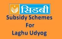 Subsidy-schemes-for-laghu-udyog-by-SIDBI