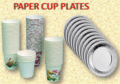 paper cup plate
