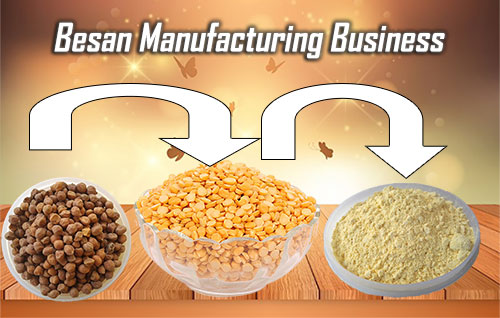 Besan manufacturing business