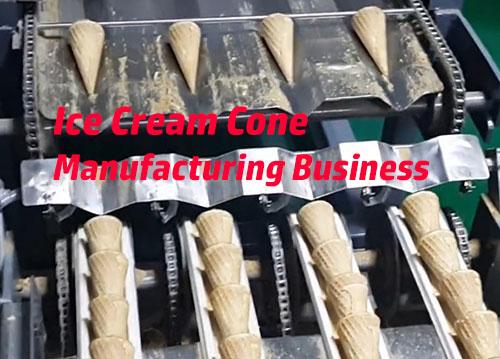 Ice-Cream-cone-manufacturing-business
