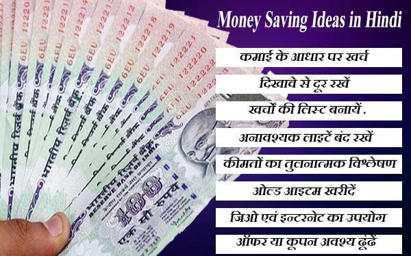 Money Saving tips in-hindi