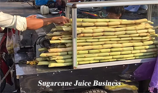 Sugarcane-Juice-Business-in India