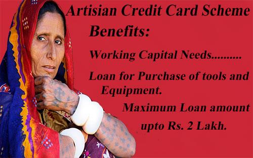 artisan credit card scheme