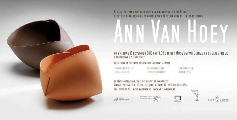 Ann Van Hoey 2012