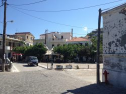 Karavostamo main square
