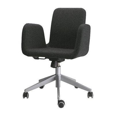 patrick chaise de bureau ultuna gris fonce