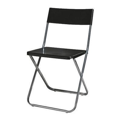 chaise pliante jeff noir