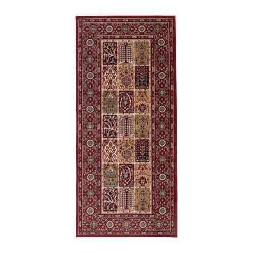 tapis valby ruta poil court multicolore cm 80x180
