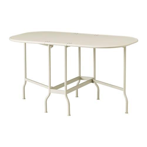 saltholmen table pliante jardin