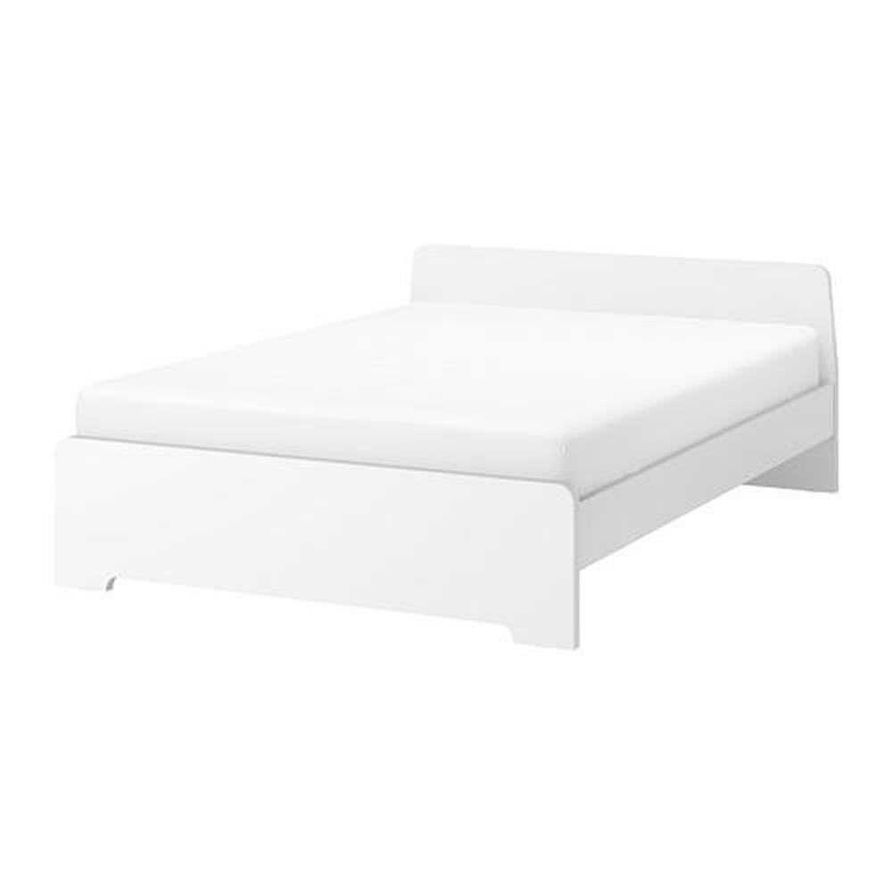 cadre de lit askvoll blanc 160x200 cm