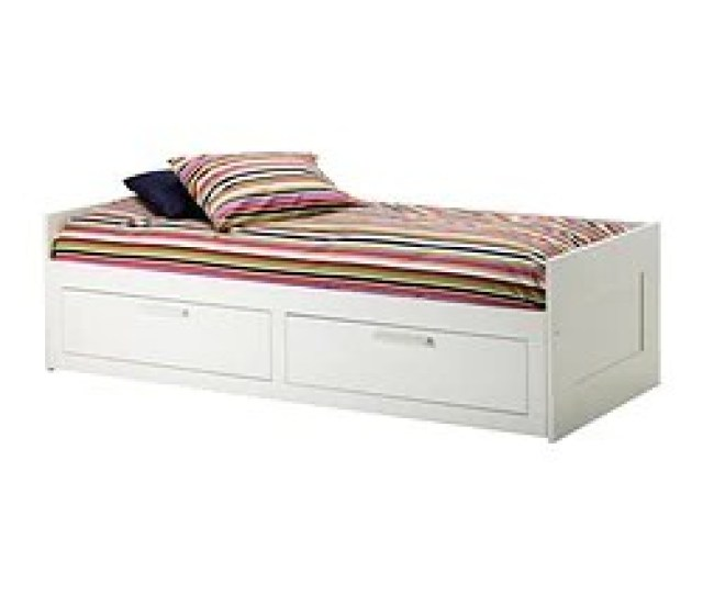 Brimnes Daybed Frame With 2 Drawers White