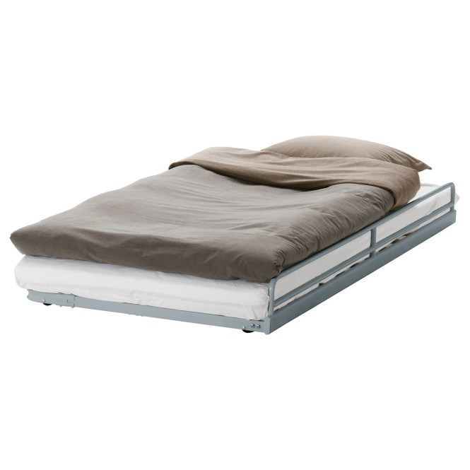 SvÄrta Pull Out Bed Silver Color Length 73 5 8 Width