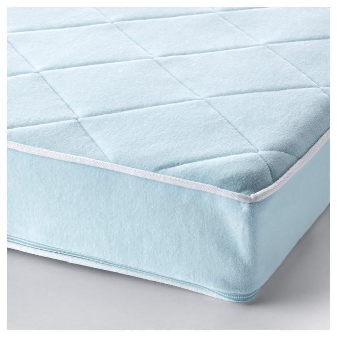 Vyssa Vackert Mattress For Crib Blue Length 52 Width 27 1