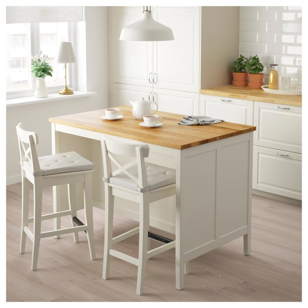 ikea kitchen island with seating kuchyňsk 233 serv 237 rovac 237 stolky a ostrůvky katalog 2018 7464