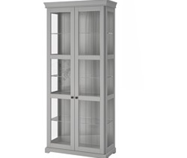 Liatorp Glass Door Cabinet