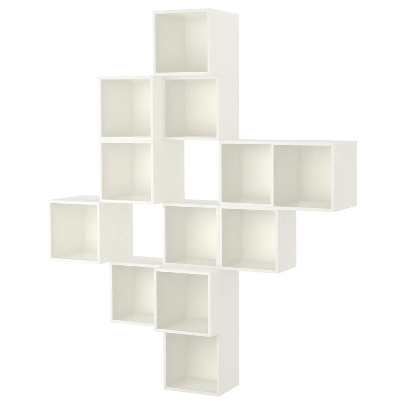 Wall Mounted Cabinet Combination Eket White