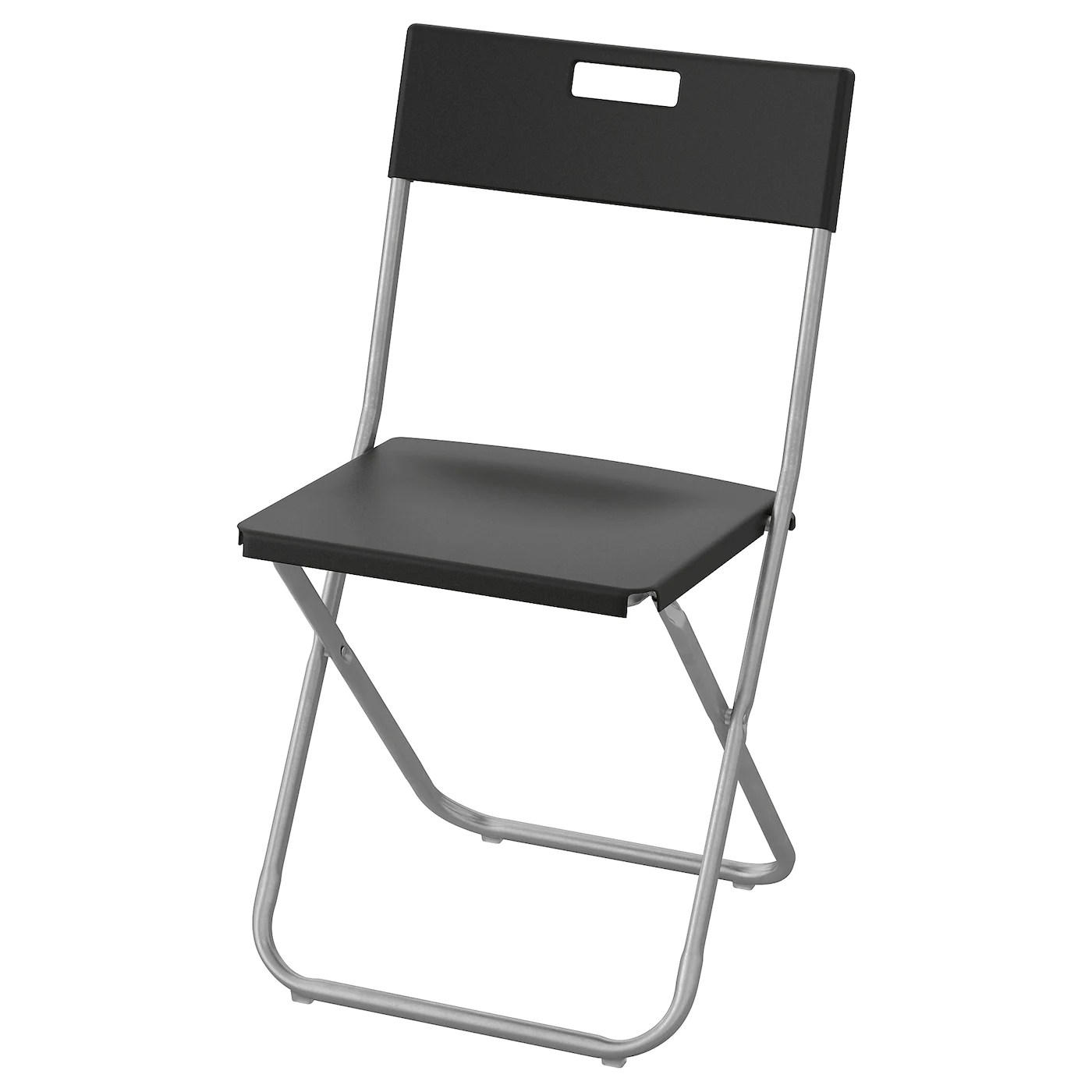 Folding Chair Gunde Black