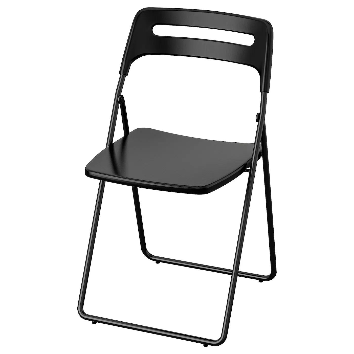 Folding Chair Nisse Black