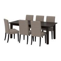 STORNÄS / HENRIKSDAL Tisch und 6 Stühle   IKEA